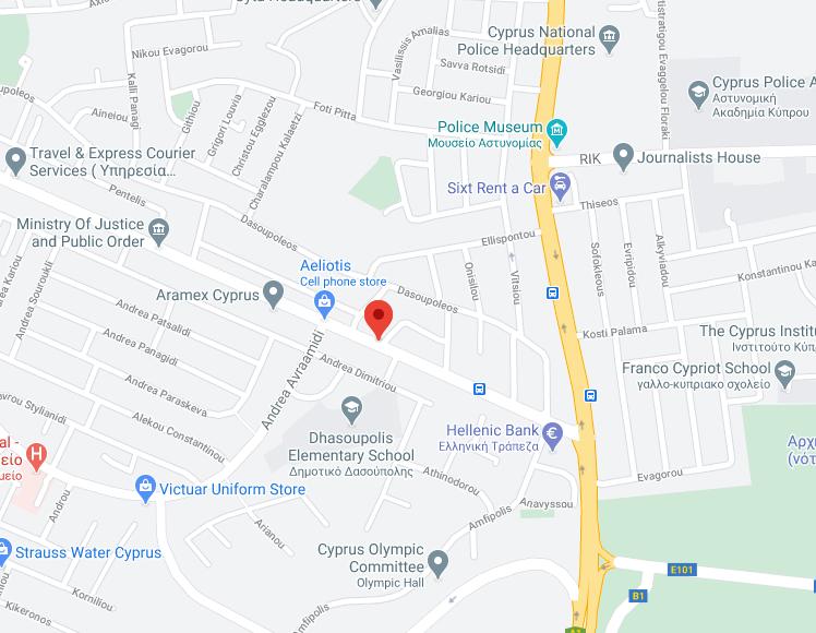 Charalambides bld map location