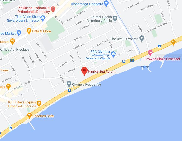 kanika sea forum map location