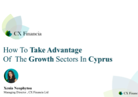 Growth Sectors in Cyprus webinar